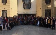 كلية التقانات الاحيائية في جامعة القادسية تنظم سفرة علمية لطلاب الكلية الى كلية العلوم في جامعة الكوفة