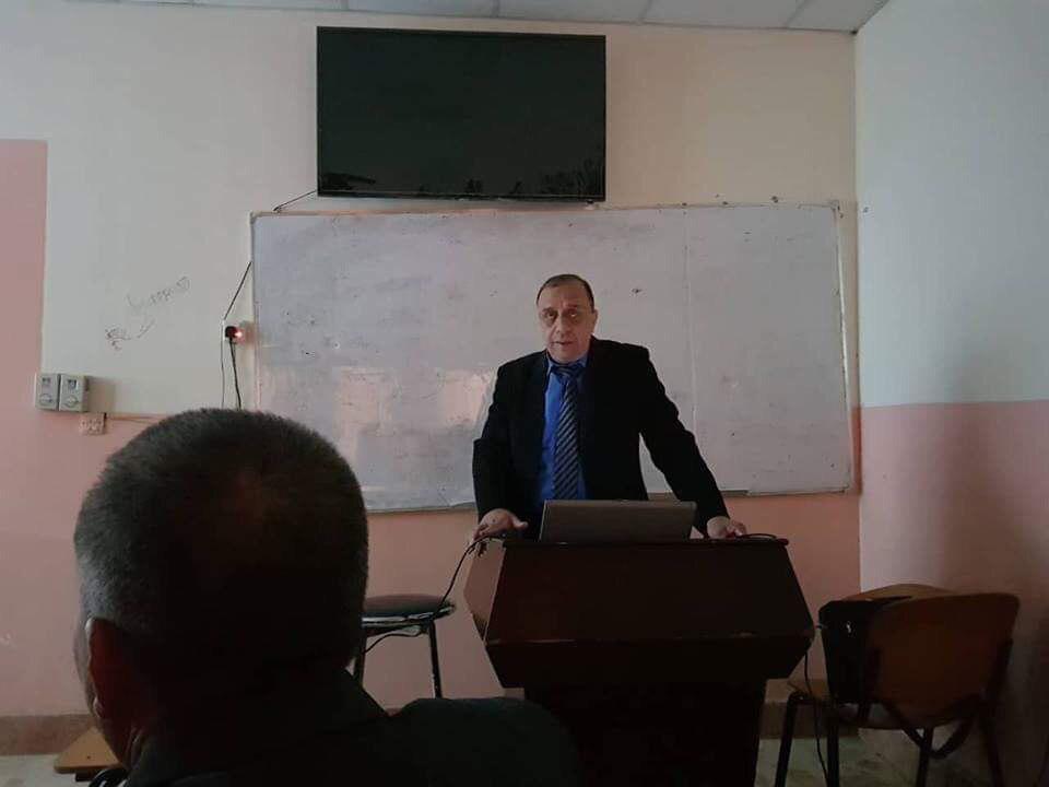 كلية الزراعة في جامعة القادسية تقيم ورشه عمل بعنوان  (( السموم الفطرية و مخاطر التلوث بها  ))