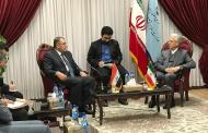 السهيل يزور جمهورية ايران ويبحث مع مسؤوليها آفاق التعاون العلمي والأكاديمي