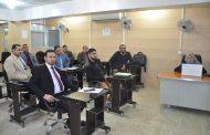 كلية الهندسة في جامعة القادسية تقيم ورشة علمية حول خصائص الخرسانة الاسفلتية