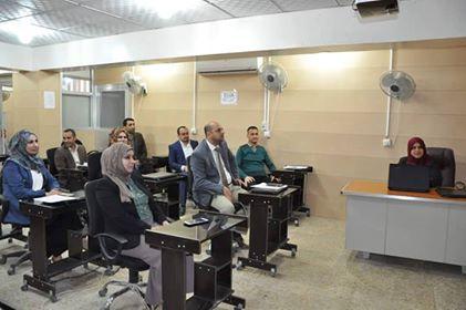 كلية الهندسة في جامعة القادسية تنظم ورشة علمية حول سلوك انحناء الاعتاب الخرسانية