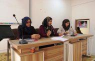 كلية التربية للبنات في جامعة القادسية تقيم ورشة عمل بعنوان((الحد من ظاهرة الهجرة ))