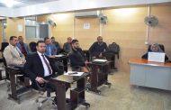 كلية الهندسة في جامعة القادسية تقيم ورشة علمية حول دراسة خصائص الخرسانة الاسفلتية