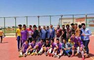 اختتام بطولة  جامعة القادسية بخماسي كرة القدم