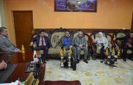 رئيس جامعة القادسية تلتقي رئيس مجلس محافظة الديوانية ويبحث معه افاق التعاون المشترك