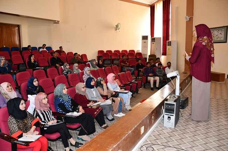 كلية الطب في جامعة القادسية تقيم  ندوة ارشادية حول (مضار الاباحية) لطلبة الكلية