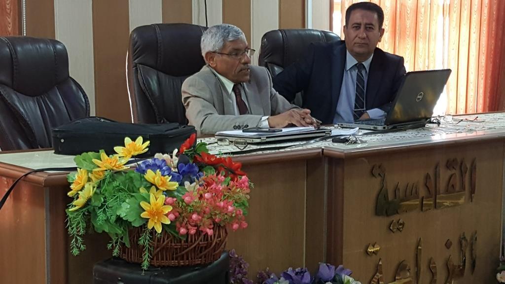 كلية الزراعة في جامعة القادسية تنظم ورشة عمل حول متطلبات  نظام المقررات