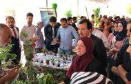 كلية الزراعة في جامعة القادسية تقيم معرض الربيع السنوي الرابع