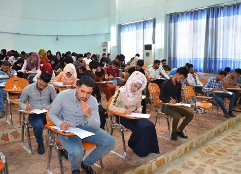 جامعة القادسية تعلن بدأ الامتحانات النهائية لكافة المراحل الدراسية للعام الدراسي 2018-2019