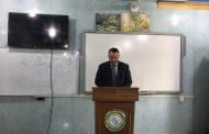 كلية التقانات الاحيائية في جامعة القادسيةتنظم محاضرة توعوية بعنوان (الحمية الكيتونية)
