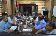 لجنة تنفيذ البرنامج الحكومي في جامعة القادسية ناقشت الية تنفيذ البرنامج ونسب الانجاز