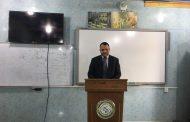 كلية التقانات الاحيائية في جامعة القادسية تقيم حلقة نقاشية عن الحمية الكيتونية