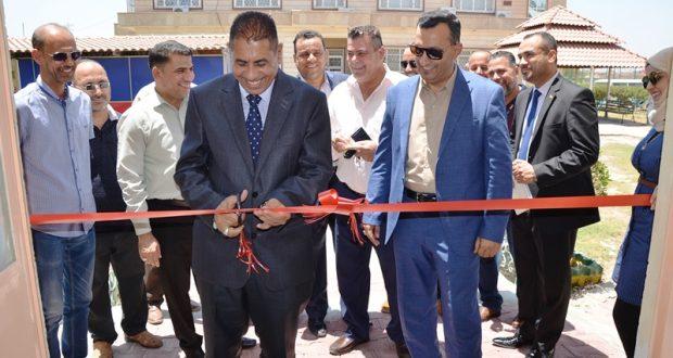 رئيس جامعة القادسية يفتتح ثلاث قاعات دراسية وقاعة الاسكواش في كلية التربية البدنية وعلوم الرياضة