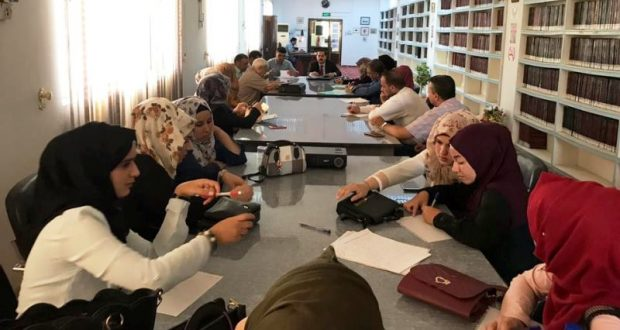 شعبة التأهيل والتوظيف والمتابعة في جامعة القادسية تقيم دورة عن المبيعات وخدمة العملاء للخريجين