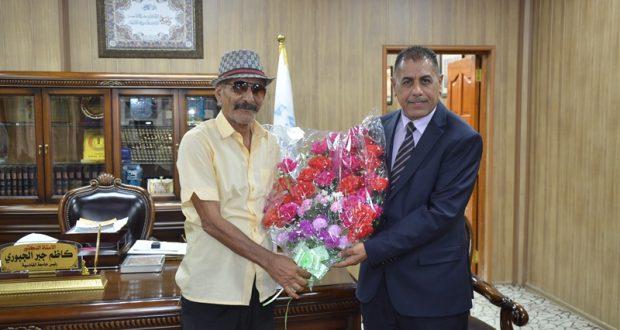 رئيس جامعة القادسية الأستاذ الدكتور كاظم جبر الجبوري يلتقي بعدد من اعلاميي محافظة الديوانية