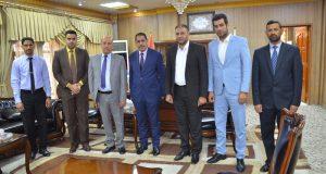 لجنة تقييم الجامعات العراقية ضمن التصنيف الوطني لجودة الجامعات العراقية تزور جامعة القادسية