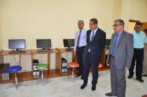رئيس جامعة القادسية يفتتح عدد من المختبرات والقاعات الدراسية في كلية الادارة والاقتصاد