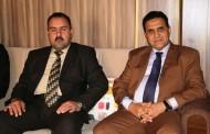 السيد عميد كلية الآداب الدكتور ياسر الخالدي في ضيافة كليتنا
