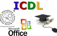 مشاركة تدريسيي كلية الاثار في دورة رخصة قيادة الحاسوب