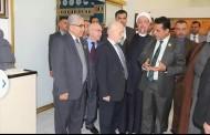 معالي وزير التعليم العالي والبحث العلمي الاستاذ الدكتور حسين الشهرستاني وجميع اعضاء هيئة الرأي يعقدون اجتماعهم في رحاب جامعة القادسية