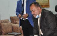متابعة ميدانية مباشرة من قبل السيد عميد كلية الاداب