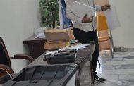 جامعة القادسية وبالتعاون مع المفوضية العليا المستقلة في محافظة القادسية تقيم دورة تدريبية حول عمل اجهزة التحقق والعد والفرز الالكترونيين في يوم الاقتراع