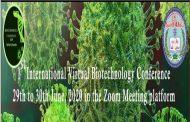 First International Virtual Biotechnology Conference