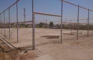 إنطلاق مشروع تأهيل الملعب الخماسي