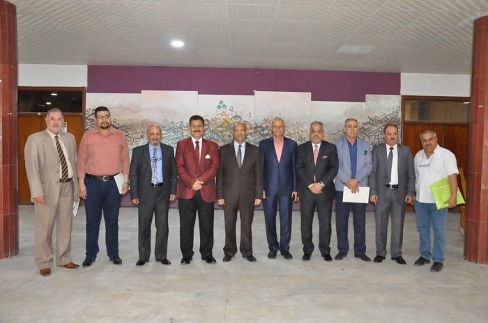 اجتماع لجنة عمداء كليات الفنون الجميلة وتقارب في الاراء والطروحات لتطوير كليات الفنون في عموم العراق