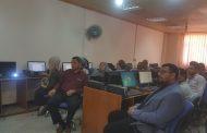 كلية الفنون الجميلة جامعة القادسية تعقد ورشة عمل لمنتسبي الكلية لتعزيز  تطبيق البرنامج الحكومي الذي اطلقته وزارة التعليم العالي والبحث العلمي.