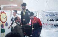الطالب احمد عدي عبد الأميريفوزه بالميدالية البرونزية