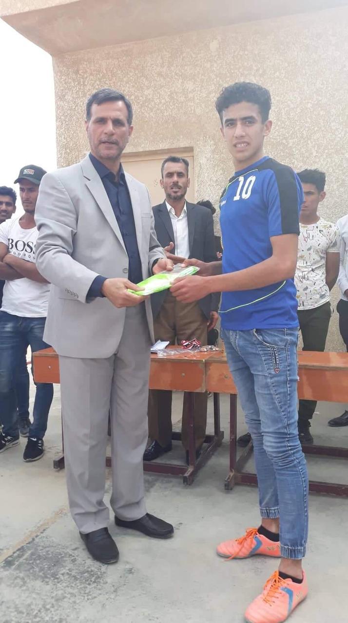 مبادرة للطالب المطبق محمد حسين شعلان