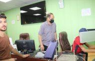 تجربة علمية في مختبر علم النفس الرياضي في الكلية التربية البدنية وعلوم الرياضة جامعة القادسية