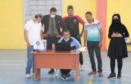مختبرات كلية التربية البدنية وعلوم الرياضة جامعة القادسية تقيم تجربة علمية