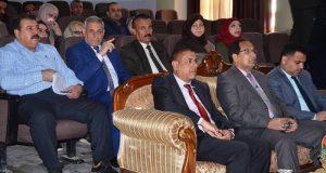 كلية الآداب في جامعة القادسية تقيم مؤتمرها التقويمي السنوي المقارن