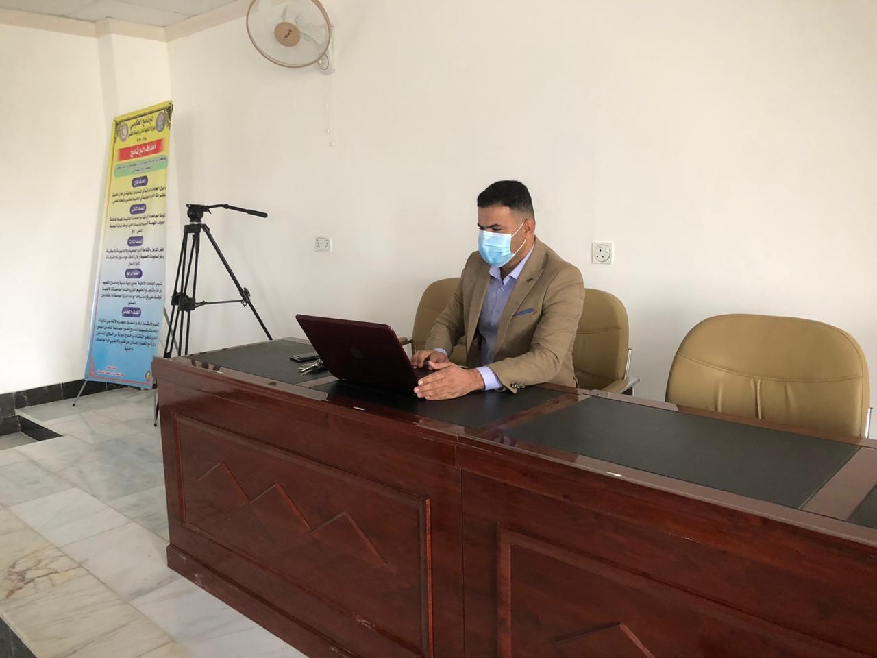 كلية التمريض في جامعة القادسية تقيم دورة بعنوان الاحصاء الحياتي وتطبيقاته