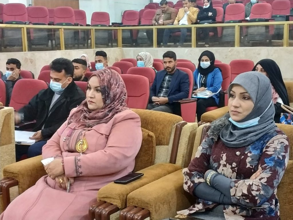 قسم الاقتصاد في كلية الادارة والاقتصاد بجامعة القادسية يعقد حلقة نقاشية بعنوان (تأثير جائحة كورونا على العمالة العربية أزمة ليس لها حلول)