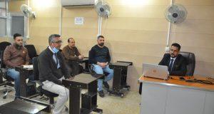 كلية الهندسة في جامعة القادسية تعقد ورشة علمية متطلبات الامان بالمركبات