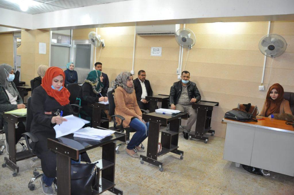 كلية الهندسة في جامعة القادسية تقيم ندوة علمية حول سلامة اللغة العربية