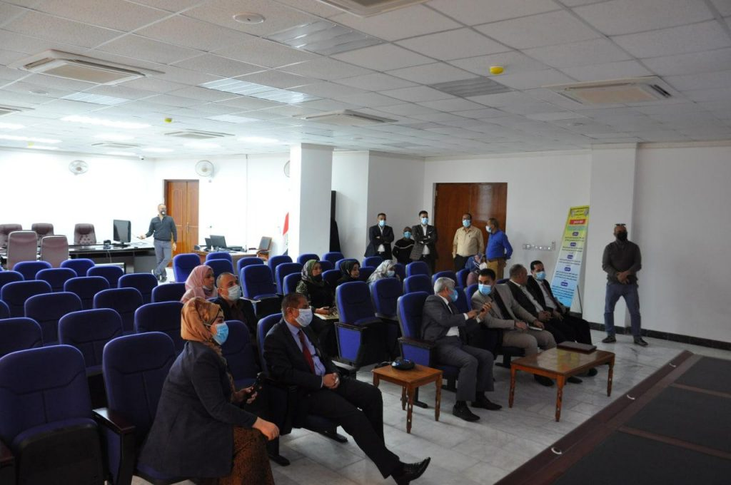كلية التمريض في جامعة القادسية تفتح القاعة الالكترونية الذكية التي تساهم في تطويرالعملية التعليمية والتربوية
