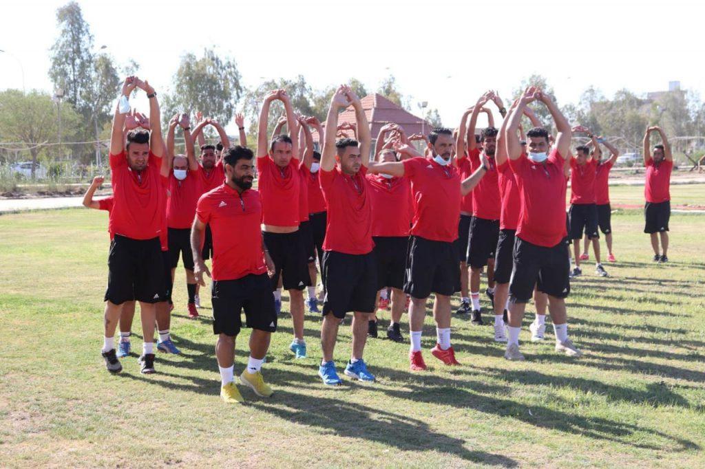 كلية التربية البدنية و علوم الرياضة في جامعة القادسية تستضيف دورة تدريبة لمدربي كرة القدم