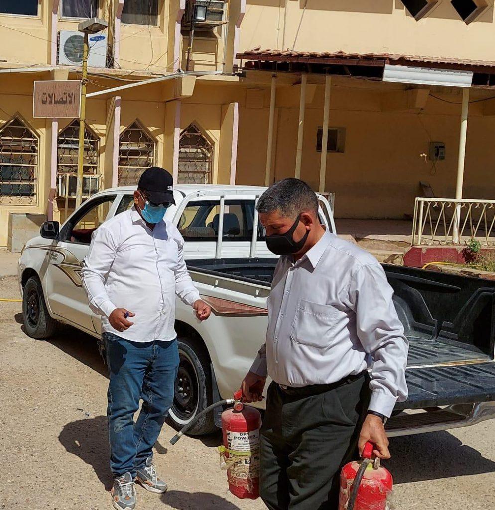 كلية التربية تنجز سلسلة من الإجراءات لضمان سلامة المباني الحكومية وتجنب الحوادث والحرائق تنفيذا للتوصيات الوزارية