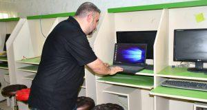 كلية الزراعة بجامعة القادسية تباشر بإعادة تأهيل مختبر الحاسبات
