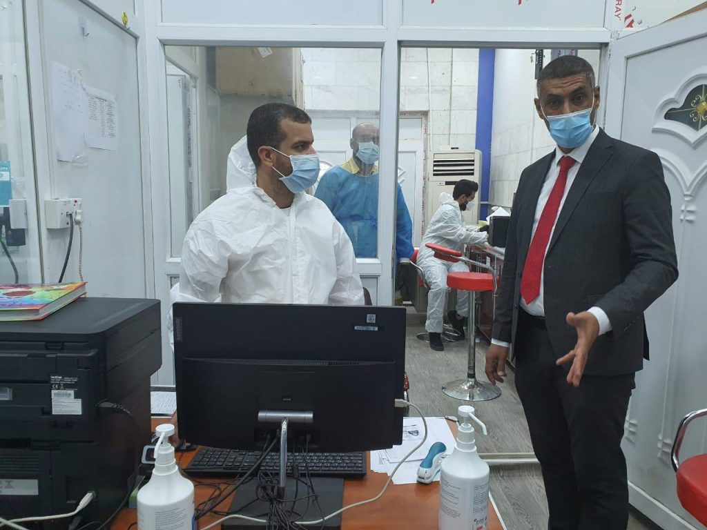 تعاون بحثي وعلمي بين كلية التقانات الاحيائية بجامعة القادسية ودائرة صحة الديوانية/ مختبر الصحة العام