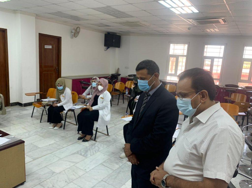 استمرار الامتحانات النهائية الحضورية والالكترونية لطلبة جامعة القادسية للدراسات الاولية