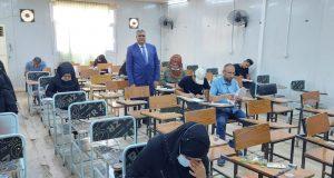 كلية التربية بجامعة القادسية تباشر بأداء امتحانات الدور الثاني النهائية الحضورية للعام الدراسي 2020-2021