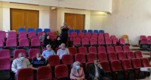 كلية الصيدلة في جامعة القادسية تنظم ندوة عن انتخابات اعضاء مجلس النواب العراقي ٢٠٢١ بين مشاركة الناخبين وعزوفهم.