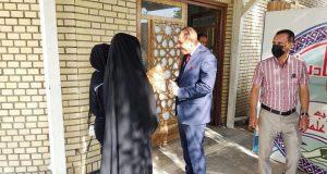 رئيس جامعة القادسية الأستاذ الدكتور كاظم جبر الجبوري يستقبل طلبة الجامعة  بمناسبة بدء العام الدراسي الجديد