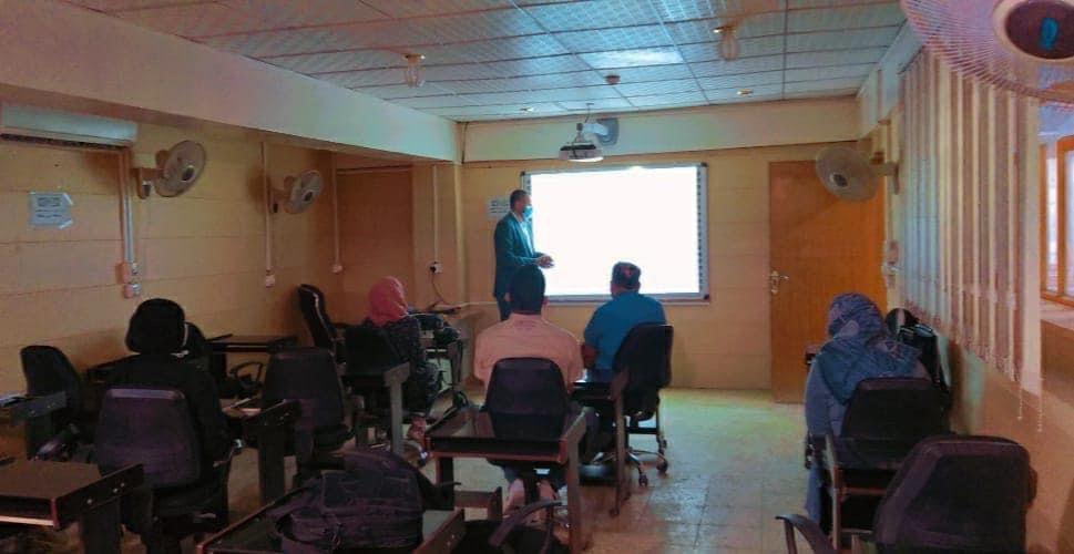 كلية الهندسة  بجامعة القادسية تنظم دورة علمية حول استخدام برامج المحاكاة الهندسية